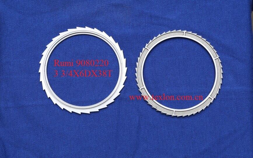 ФОТО Rumi Seven Socks Machine Use Saw Cutter 3 3/4X6Divisionsx38Teeth / Rumi 9080220