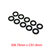 ID8.75mm x CS1.8mm Nitrile Rubber NBR O Rings Oil Seals Gasket