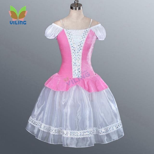 c3583b9161b Adult swan lake professional classical ballet tutus dress women Pink giselle  romantic ballet tutu long skirt nutcracker costumes