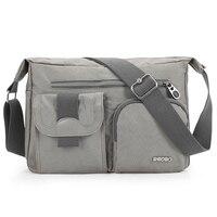 New Light Weight Fashion Men S Shoulder Bag High Quality Vintage Nylon Messenger Bag Korean Style