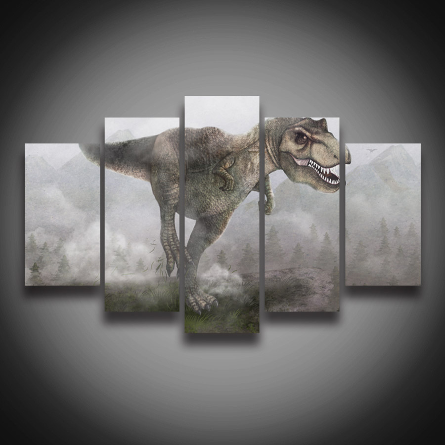 Dinosaur canvas best dinosaur images 2018 dinosaur map of the world canvas wall art rosenberryrooms gumiabroncs Image collections