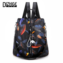 DIZHIGE Brand Waterproof Oxford Women Anti-theft Backpack High Quality School Bag For Large Capacity Multifunctional Bags