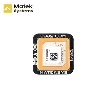 Matek Systems M8Q-5883 SAM-M8Q GPS & QMC5883L Compasses Module for RC Drone FPV Racing Models Part Accessories 1