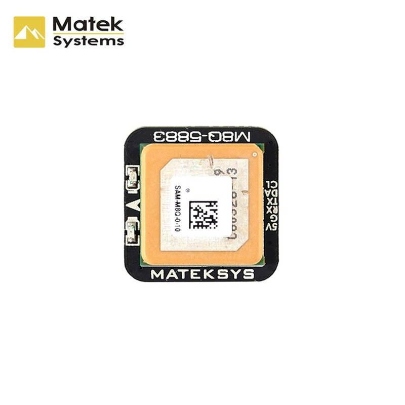 Matek Systèmes M8Q-5883 SAM-M8Q GPS & QMC5883L Compas Module pour drone rc FPV Racing Modèles Partie Accessoires