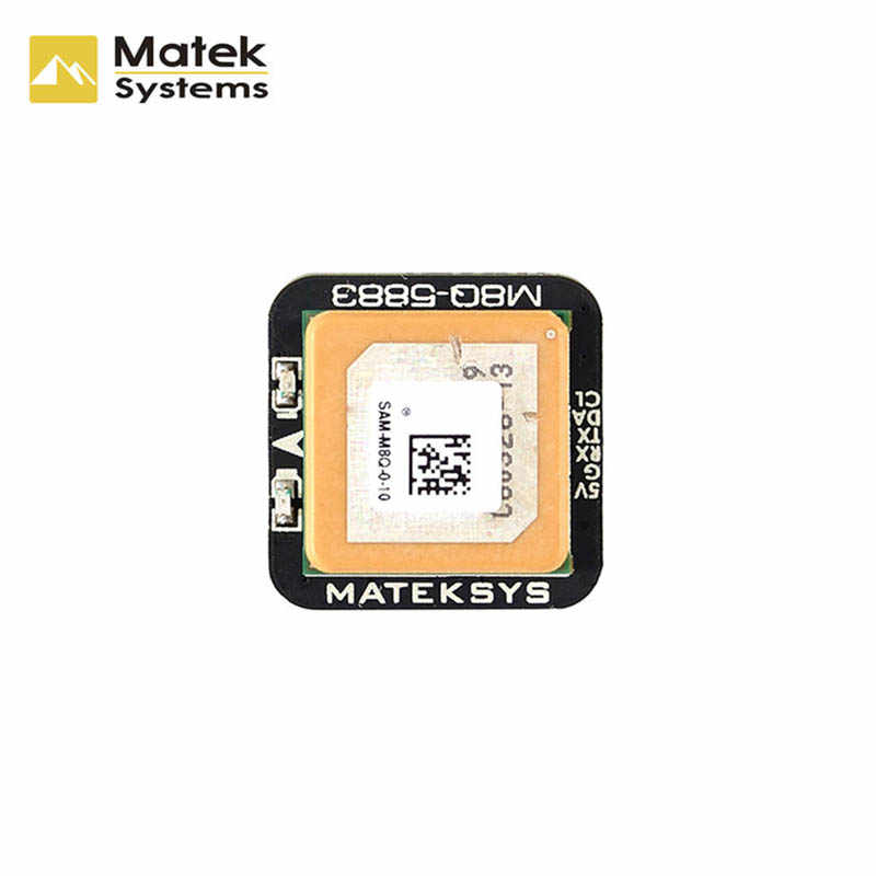 Matek Systems M8Q-5883 SAM-M8Q GPS & QMC5883L Compasses Module for RC Drone FPV Racing Models Part Accessories