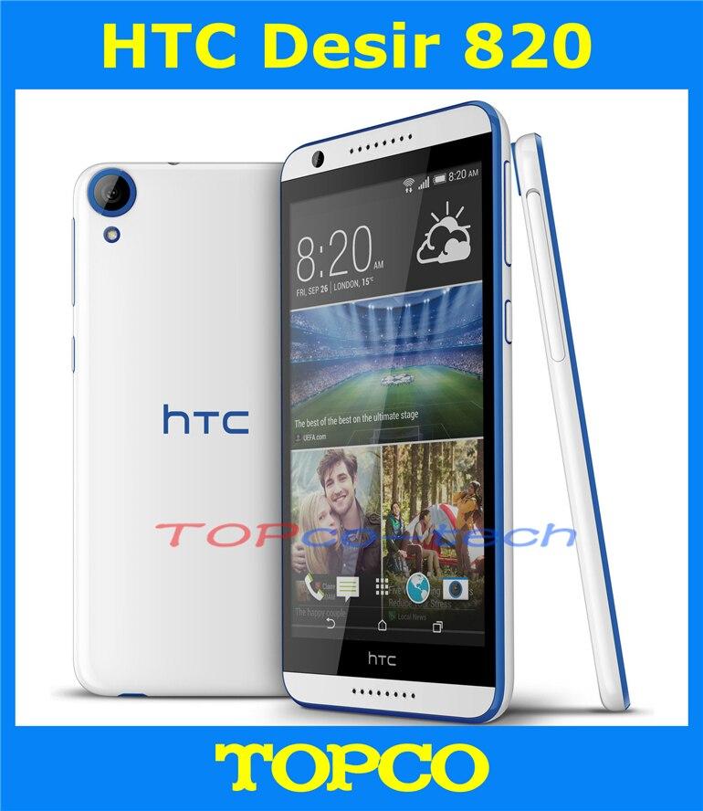 """bilder für HTC Desire 820 Dual ursprünglicher Freigesetzter Handy 5,5 """"Quad Core 2 GB RAM 16 GB ROM 5,5"""" 13.0MP Dual sim 3G & 4G dropshipping"""