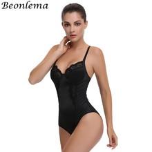 Beonlema Sexy Slimming Bodysuit Waist Trainer Body Shaper Women Tummy Control Underwear Butt lifter Chest Binder Push Up Clothes