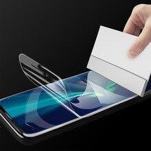Película protectora de cubierta completa suave 3D para Samsung Galaxy A3, A5, A7, 2016, 2017, J3, J5, J7, Protector de pantalla de hidrogel sin cristal