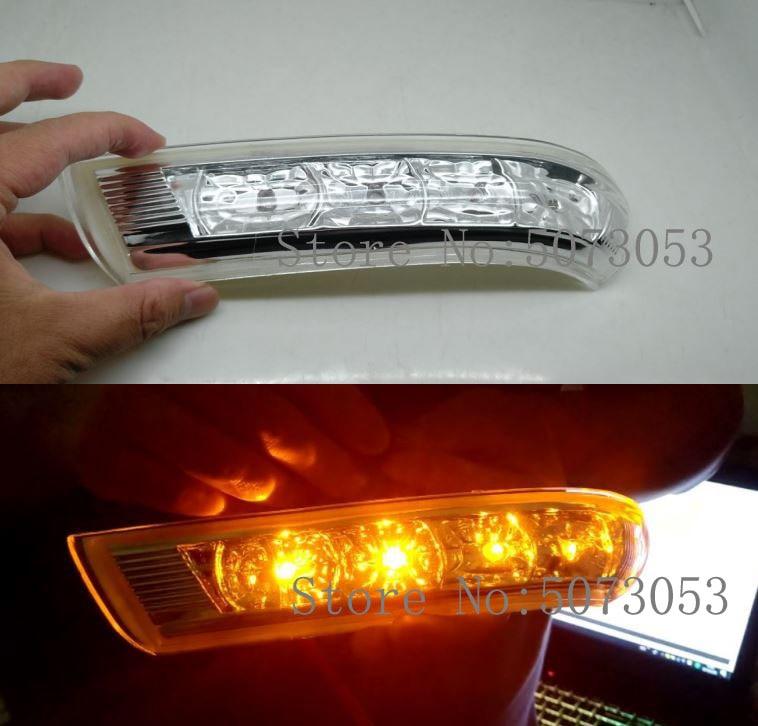 Espelho retrovisor lateral led turn signal light lâmpada indicadora para hyundai santa fe 2010 2011 2012 para verax ix55 2007-2012