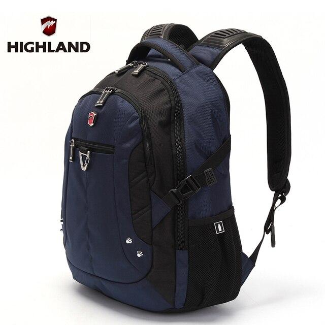 HIGHLAND Brand Waterproof Women School Backpack Bag High Quality ...