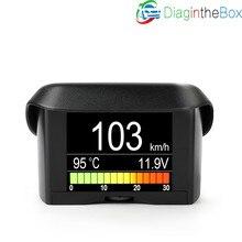 A202 OBD2 Автомобильный сканер Смарт OBDII датчик Автомобильный спидометр воды Хладагент Температура расход топлива Напряжение Дисплей
