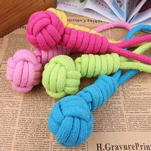 1pcs Dog Rope Toy For Dog Chew Toy Knot Ball Teeth Pet Toys Pets Large Dogs Toy Pet Products For Small Dogs Molar Tooth Bite