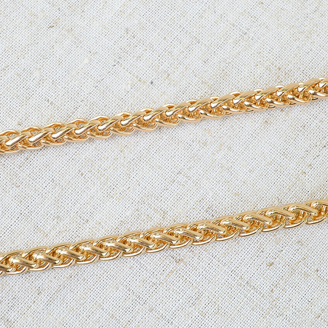 128 Cm Gold Metal Chains Shoulder Bag Replacement Belt Chain Strap Accessories For Handbags