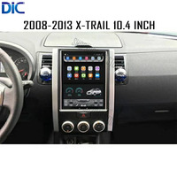 DLC Android 6.0 system 10.4 vertical screen navigation player multifunction GPS video canbus mp3 For Nissan 2008 2014 X trail
