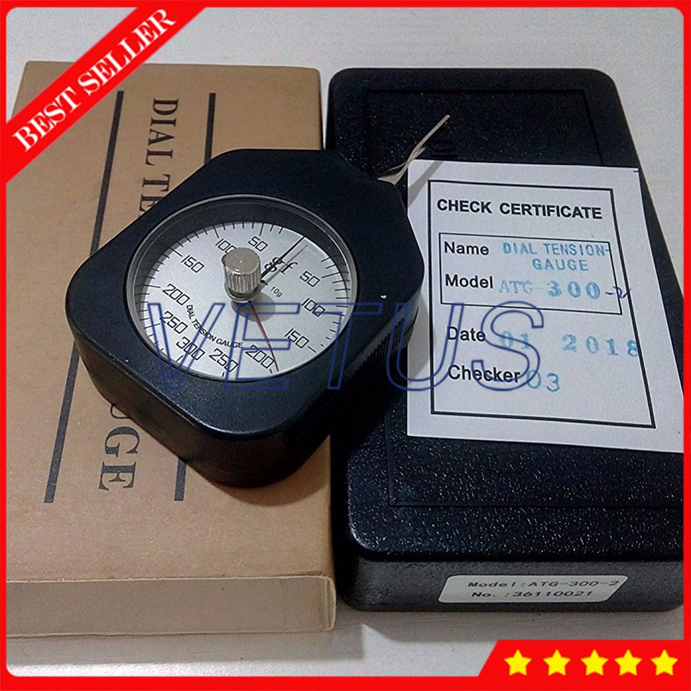 ATG-300-2 Peak-hold 300g dial Tension Meter Gauge Double pointers analog Tensiometer PriceATG-300-2 Peak-hold 300g dial Tension Meter Gauge Double pointers analog Tensiometer Price