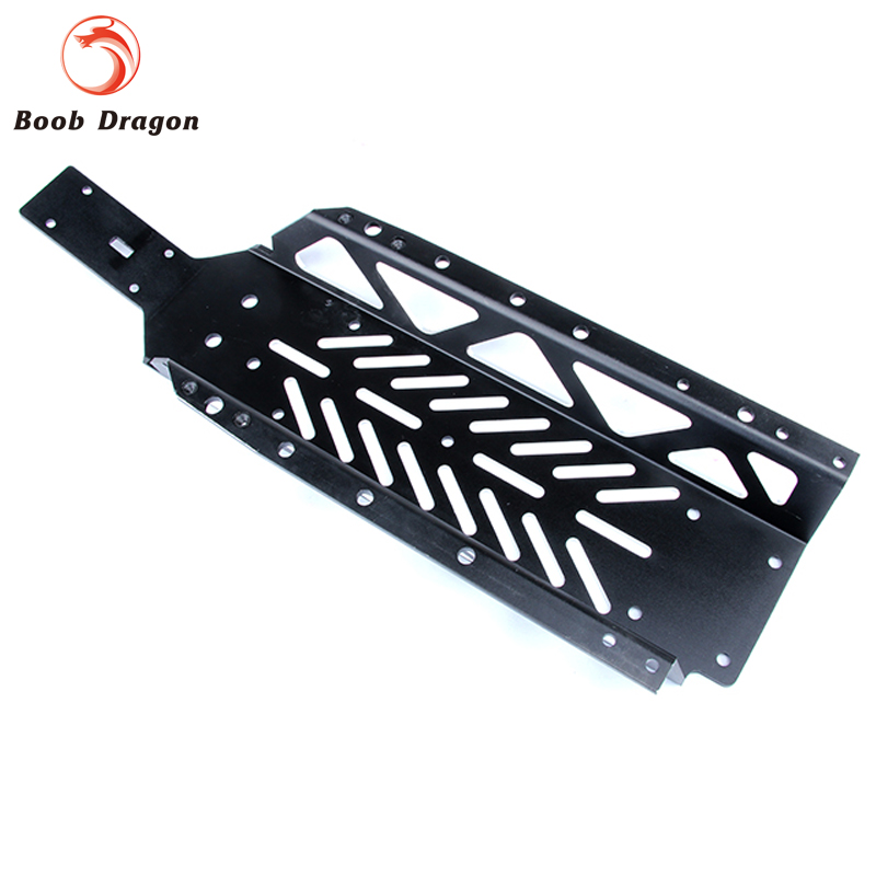 Black Baja main frame chassis for HPI Baja 5b ss 5t 5sc Rovan King Motor rear chassis plate for 1 5 hpi baja 5b 5t 5sc