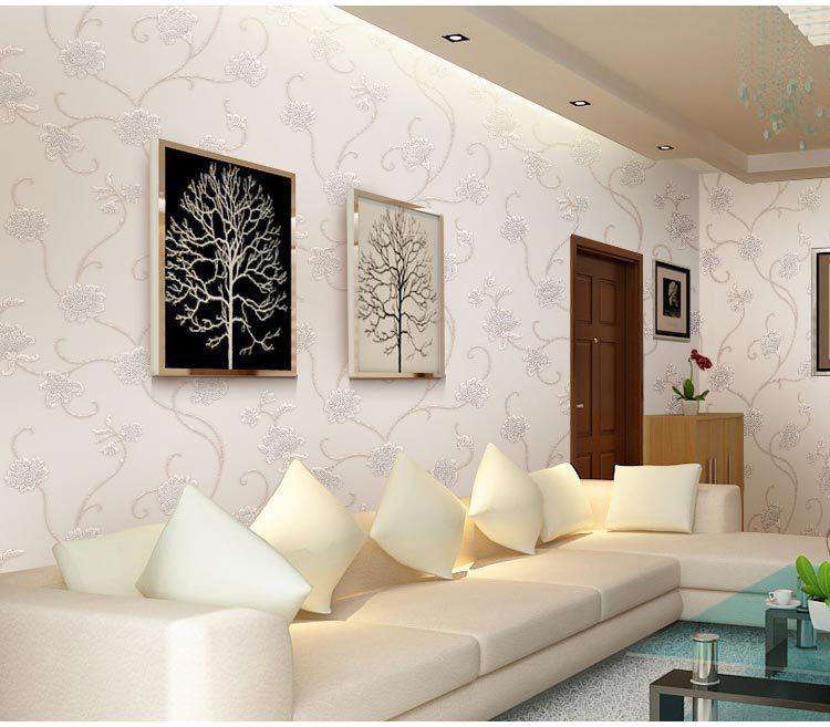 Papel De Parede Wallpaper Gulungan Dekorasi Rumah Ruang Mural Foto Tamu Yang Modern Tv Diimpor Di Dari Perbaikan