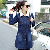 95b82b35b51d4 Lusumily Trench Coat For Women Lambswool Long Sleeves Warm Coats Plus Size  S To 5xl Turn