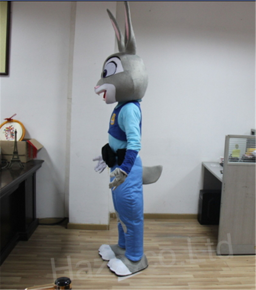 Zootopia Rabbit Judy Fancy Dress Adult Mascot Costume