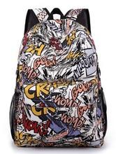 2015 bande dessinée de mode polyvalent mâle étudiantes sacs à dos Anime filles imprimé sac garçon école Daily Mochila Infantil sac à dos