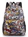 2015 moda dos desenhos animados estudantes mochilas Anime meninas impresso saco versátil masculinos menino de escola Mochila Infantil Mochila