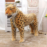 simulation animal huge leopard plush toy 110x70cm high quality ,can be rided,birthday gift,Christmas gift w0442