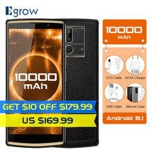 Oukitel K7 10000 mAh 6.0 Inç 18:9 Ekran Android 8.1 MT6750T 4 GB RAM 64 GB ROM 13MP + 5MP hızlı Şarj 4G Parmak Izi Smartphone
