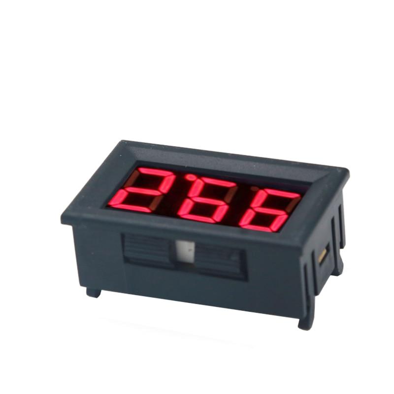 DC 100 V voltmeetri ampermeeter Punane LED-võimendi digitaalse - Mõõtevahendid - Foto 5