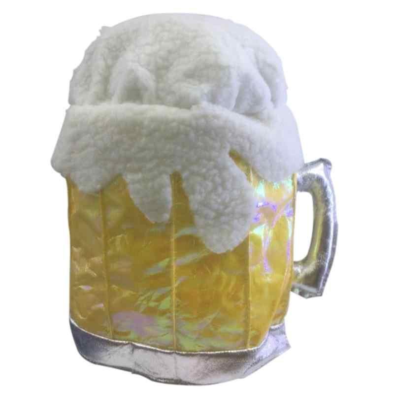1 шт. смешно пива Кепки шляпа Праздничный головной убор вечерние аксессуары вечерние принадлежности для тема вечерние День рождения Футбол