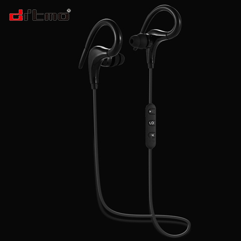 Drtmo Wireless Bluetooth 4.1 Headsets Sports Headphones Stereo Wireless fone de ouvido Earbuds with microphone for xiaomi iphone lexin 2pcs max2 motorcycle bluetooth helmet intercommunicador wireless bt moto waterproof interphone intercom headsets