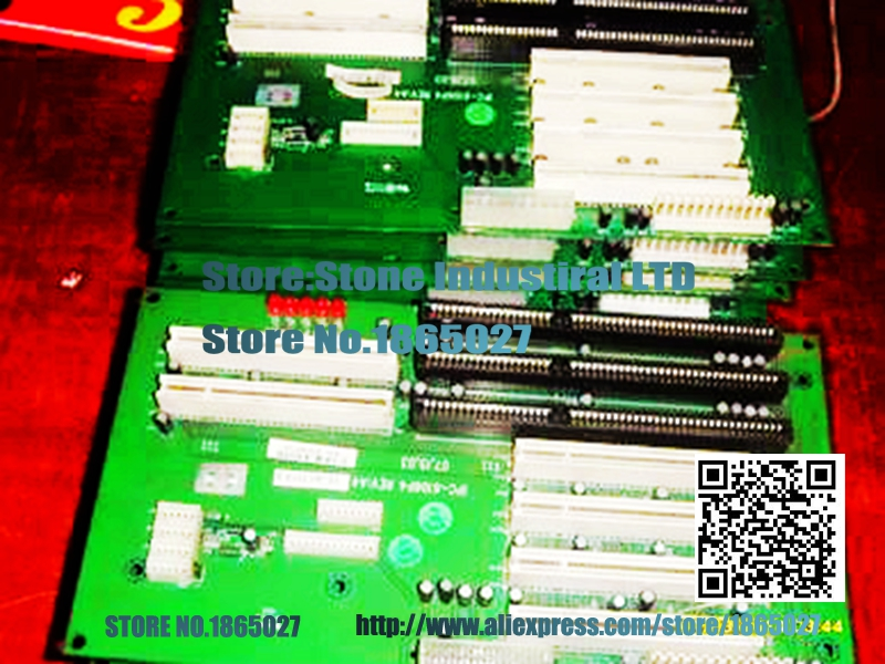 Original IPC-6106P4 industrial backplane supports AT / ATX power supply 100% test at new arrival 23650 at 2u industrial computer case general standard atx 2u power supply