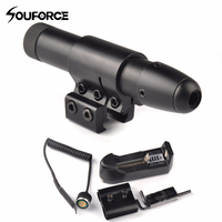 Professional Green Laser Pointer Colimador Laser with Charger and 2 Type Scope Mount Ring For Hunting Riflescopes