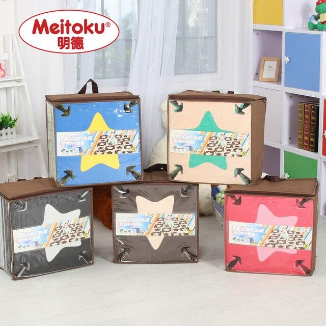 Meitoku Magic Star Детская Игра-Головоломка Мат, Блокируя Плитки для Подарка, 20 шт./компл. Пены EVA ковры и ковер для детей Каждый: 40x40 cm