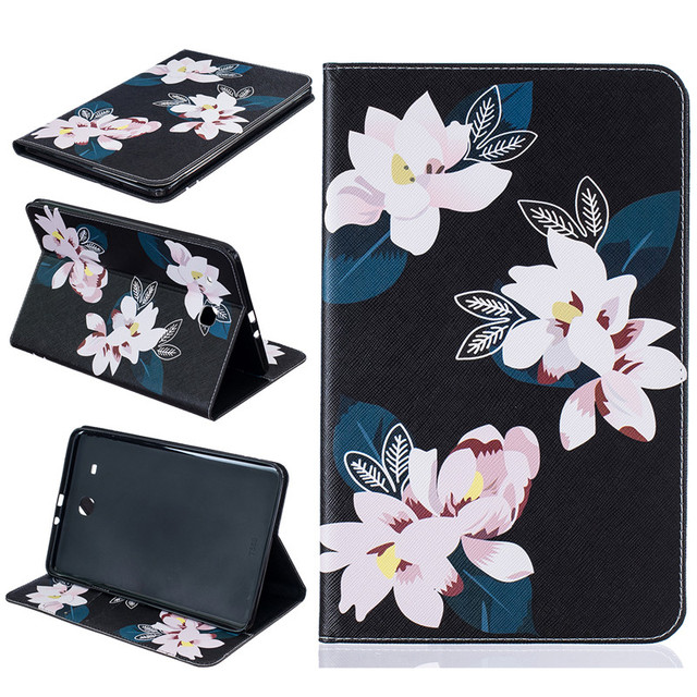 Case for samsung galaxy tab e 96inch flowers pu leather wallet case for samsung galaxy tab e 96inch flowers pu leather wallet phone bag cover for mightylinksfo