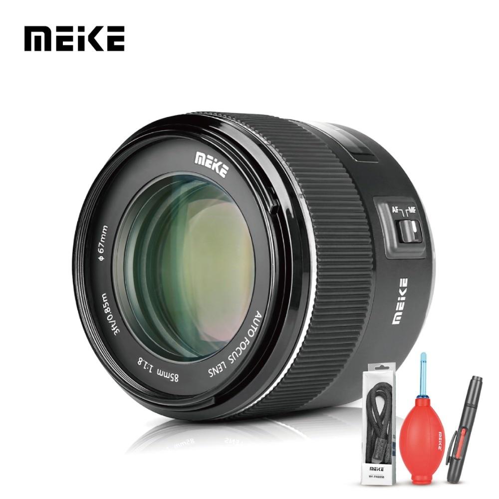 Meike 85mm F/1.8 Auto Focus Aspherical Medium Telephoto Portrait Prime Lens for Canon 1300D 600D EOS EF Mount DSLR Cameras+Gift