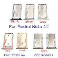 Karty SIM tacka uchwyt na Adapter do Xiaomi Redmi 3S 4 4A uwaga 4X Pro