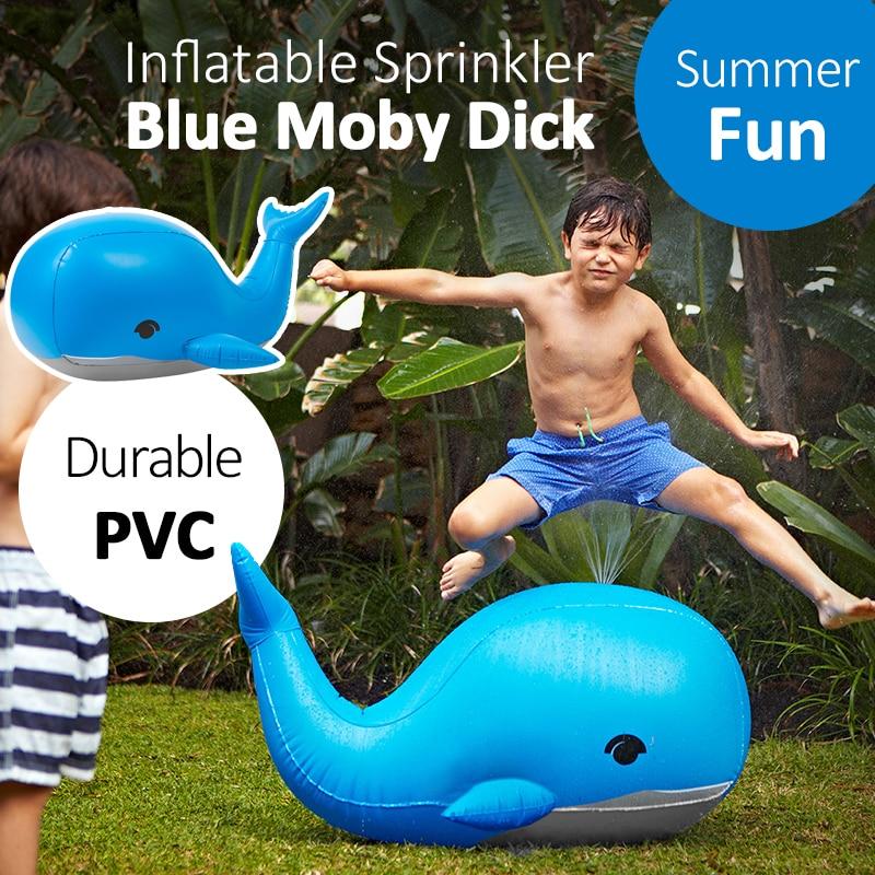 YHSBUY 110cm Giant Blue Whale Yard Sprinkler Балалар - Су спорт түрлері - фото 5