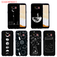 For Samsung Galaxy S8 S8Plus case Bright Star Sky Astronaut for S9 S9Plus S6 S6E S7 S7E Soft silicone phone
