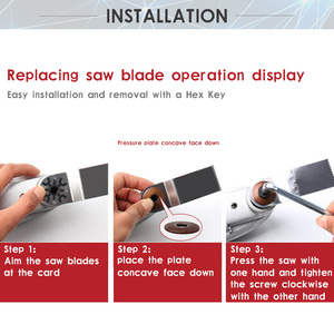 Image 5 - 12V Li ion Oscillating Multi Tool with 2 battery Cordless Power Tools for Home DIY Renovation Tools Electric Trimmer Saw