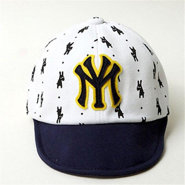 matériaux de qualité supérieure grand Prix en arrivant € 1.96 27% de réduction|Mode nouveaux enfants NY lettres Casquette de  Baseball enfant garçons filles os Snapback Hip Hop chapeau plat bébé  Casquette ...