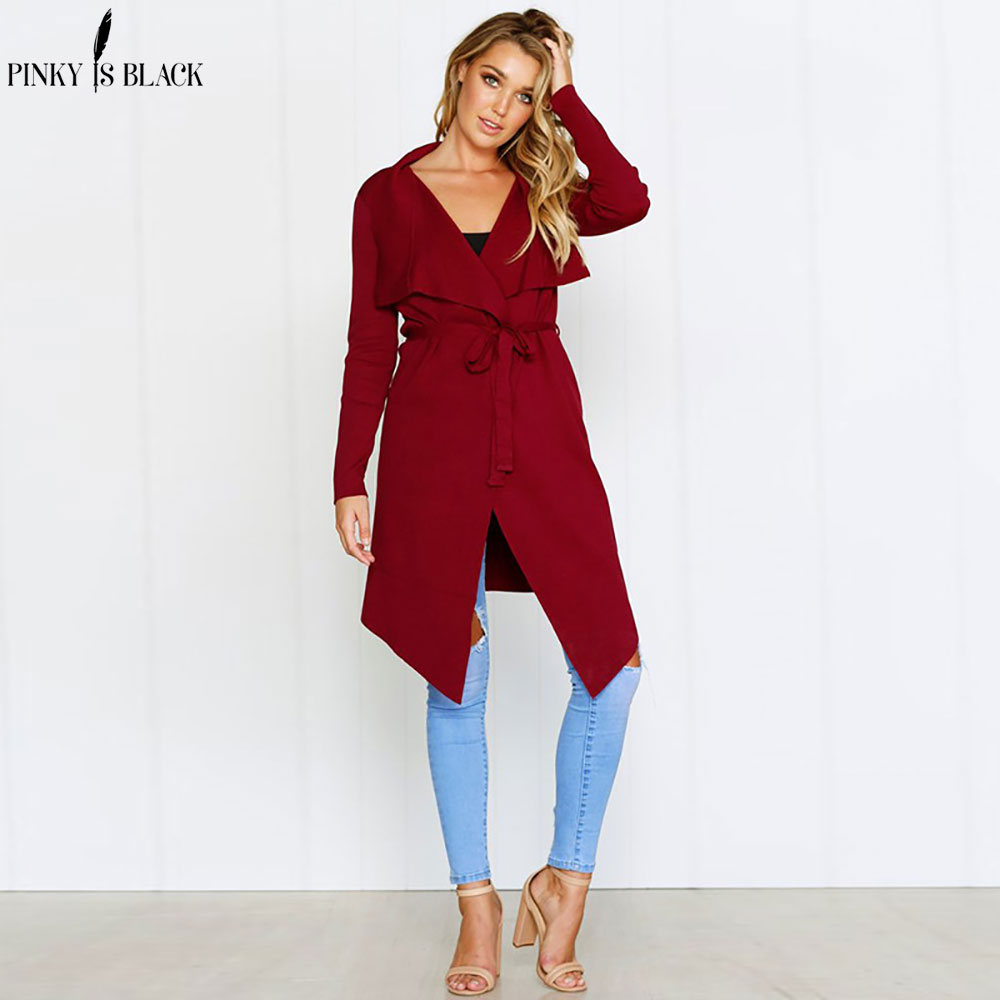 PinkyIsBlack Sash Elastic Cardigan Spring Sweater Women Jumper Knitted Cardigan Female Coat Soft Casual Sweater Pull Outerwear