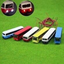 N-tier модель поезд светодиодный светильник автобус 1:15 0 сплав со светодиодной моделью игрушечный автобус дизайн