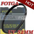 Бесплатная доставка! Оптовая продажа! Fotga OEM 52 мм 52 мм дымка-туман объектива для канона Nikon Olympus камеры