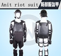 Free shipping Security riot gear riot armor suits black flame-proof hard protection equipment Hornier Protective Anti clothes