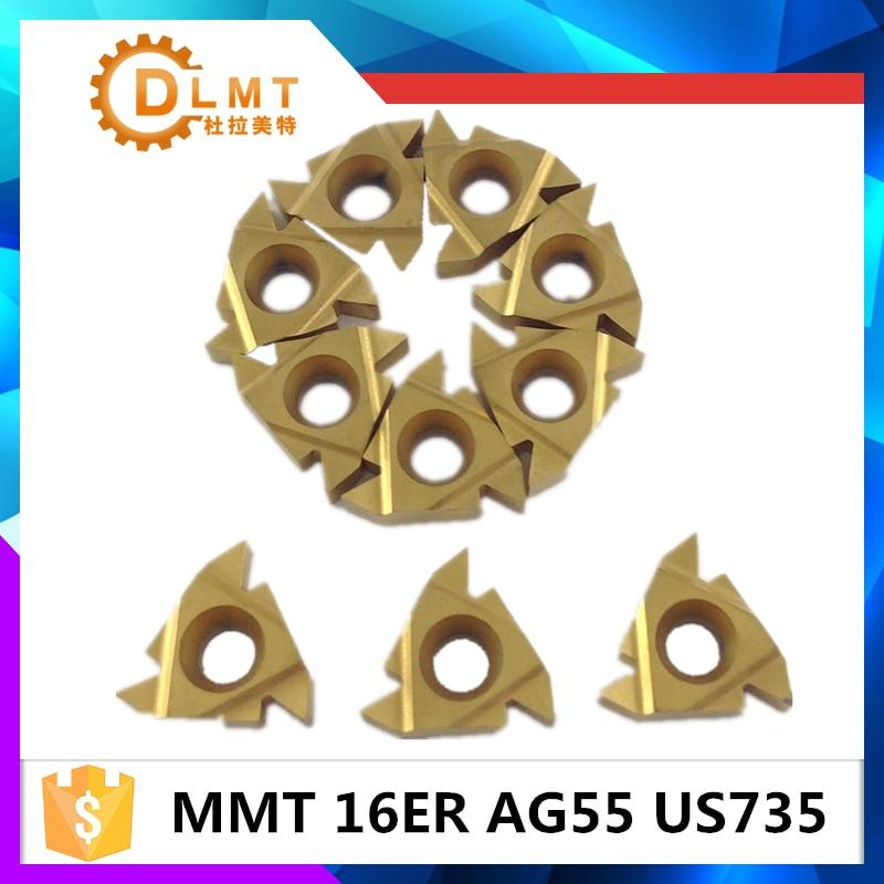 20db MMT 16ER AG55 AG60 US735 Menet esztergáló szerszámok - Szerszámgépek és tartozékok - Fénykép 4