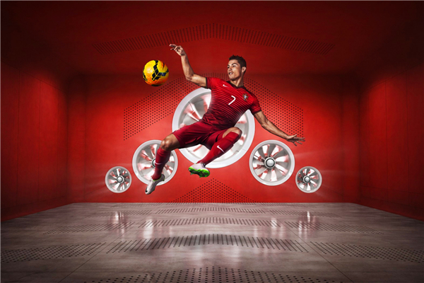 Cristiano Ronaldo Poster Portugal Football Posters Ronaldo Wall Stickers Soccer Sticker CR7 Wallpaper <font><b>World</b></font> <font><b>Cup</b></font> Canvas Art #2336