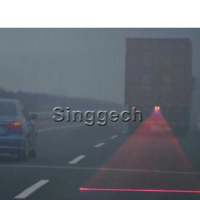 1X Xe Laser Đỏ Đuôi Đèn Sương Mù Cho Xe Toyota Corolla Avensis RAV4 Yaris Auris Hilux PRIUS Verso Cho Buick Excelle encore