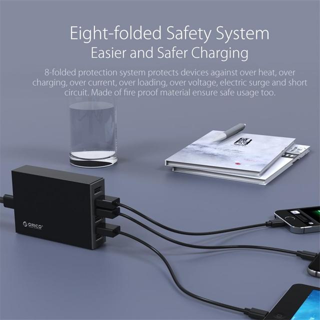 6 Port Travel USB Charger