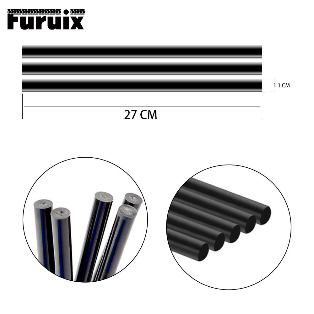 FURUIX 3 Pcs PDR Tools Auto Repair Tool Hot Melt Glue Sticks Paintless Dent Repair Tools Car Dent Removal Tools Kit Ferramentas