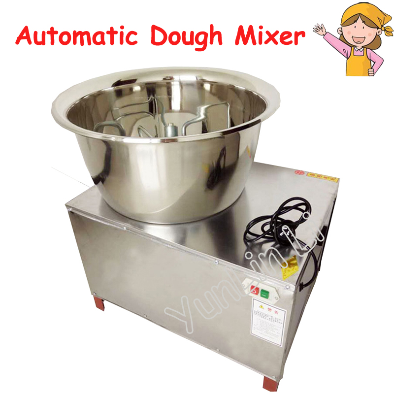 Commercial 30kg Automatic Dough Mixer 220V/110V Stainless Steel Mixer Stirring Mixer Pasta Machine Dough Kneading HMP-30 new premium high quality stainless steel commercial dough ball making machine automatic dough divider rounder for small business